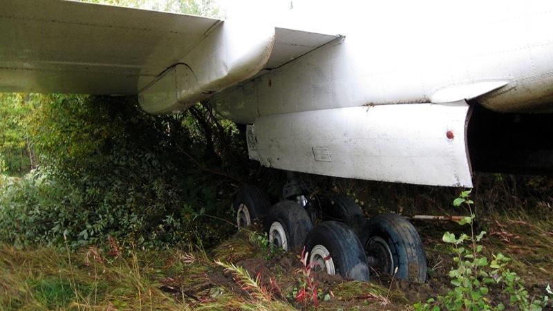 посадка Ту-154 в Ижме