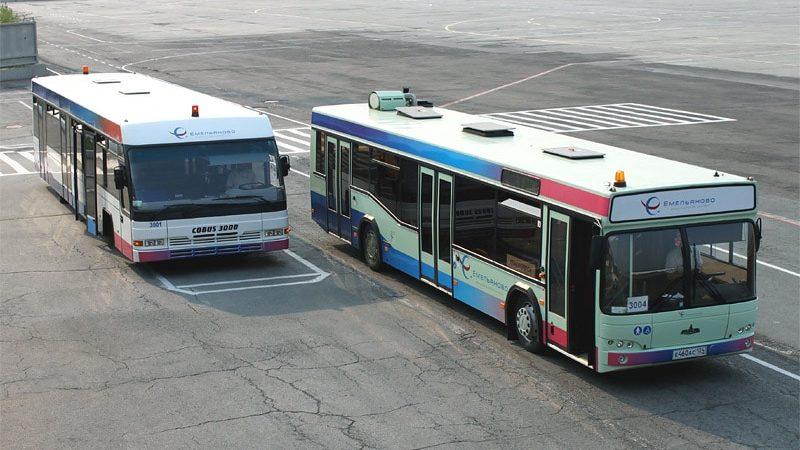 Расписание автобусов автовокзал Красноярск - аэропорт Емельяново