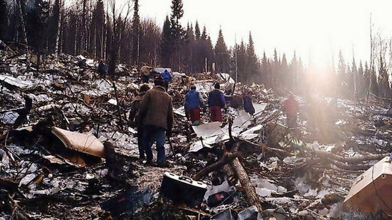 авиакатастрофа Ту-154 под Хабаровском