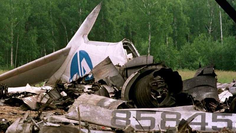 катастрофа Ту-154 под Иркутском 2001