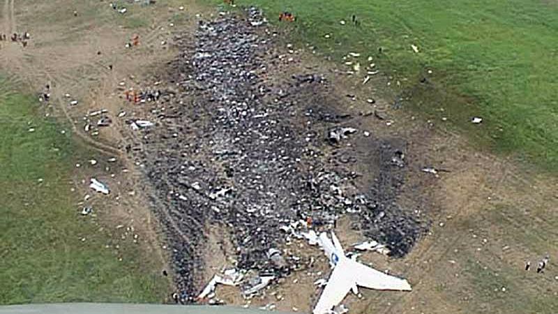 катастрофа Ту-154 в Иркутске 4 июля 2001