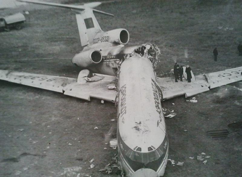 крушение самолета ТУ-154 под Учкудуком