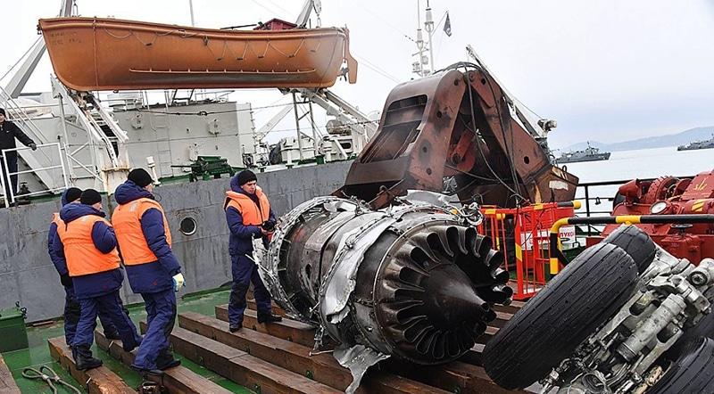 катастрофа Ту-154 над Черным морем