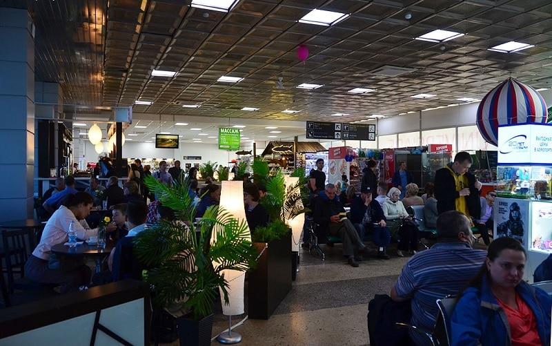 Онлайн-табло вылета и прилета аэропорта Емельяново