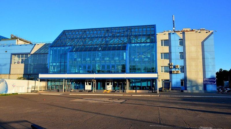 Новый терминал аэропорта Емельяново