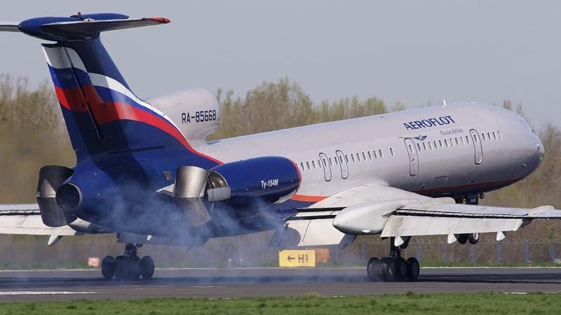 самолет Ту-154 фото