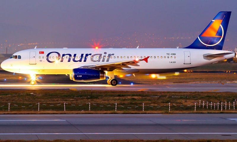 Онлайн-регистрация на рейс Onur Air