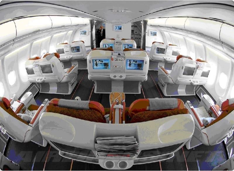 бизнес класс в самолете Аэрофлота фото