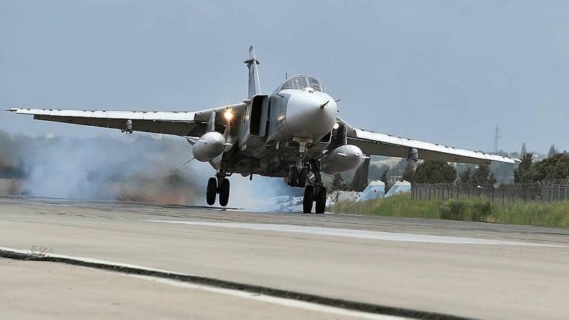 крушение Су-24