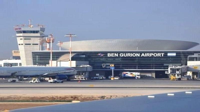 онлайн-табло аэропорта Тель-Авива Бен-Гурион