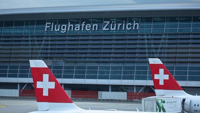 схема пересадки в аэропорту Цюриха
