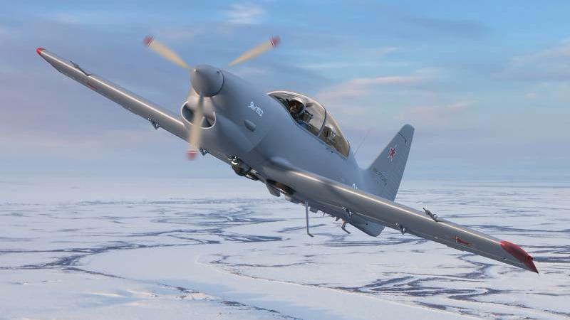самолет ЯК-152