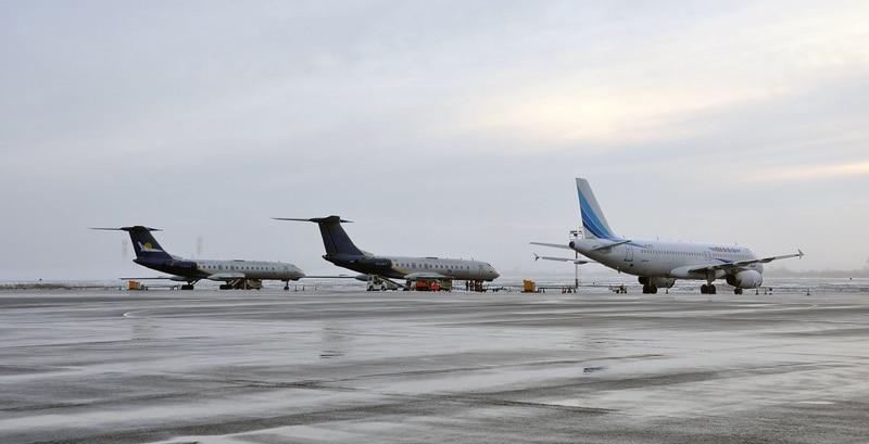 городской аэропорт Новосибирска