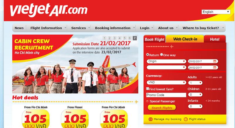 Авиакомпания Vietjet Air