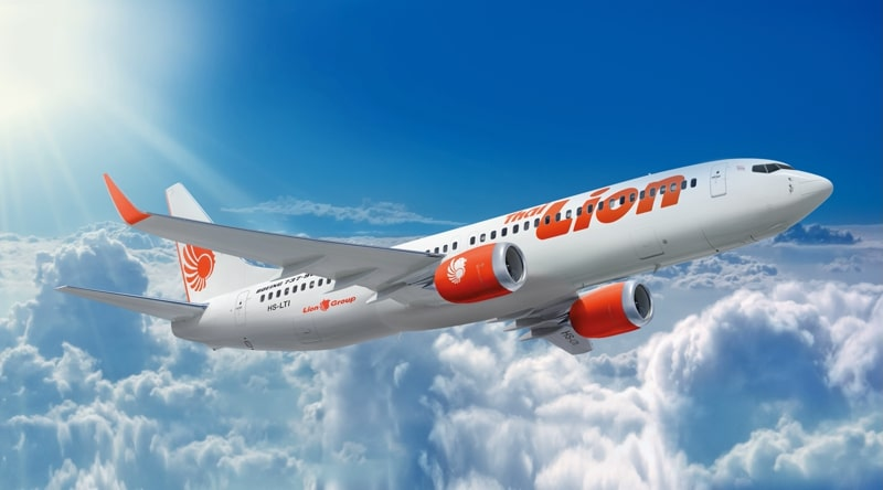 Thai Lion Air официальный сайт