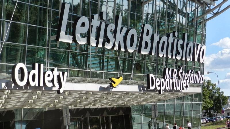 аэропорт Братиславы онлайн-табло