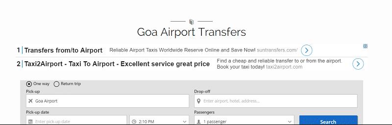 Аэропорт Даболим онлайн-табло