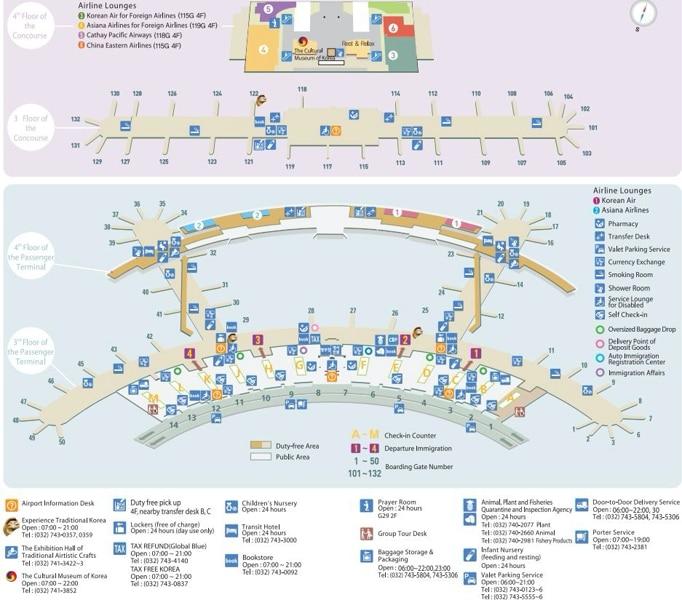 официальный сайт аэропорта Сеула Инчхон