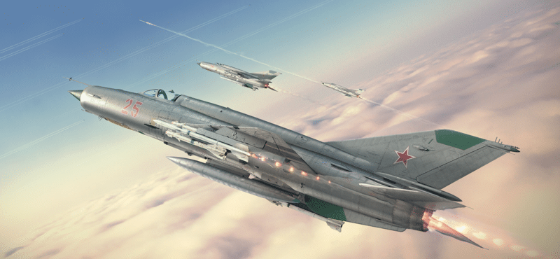 самолет МиГ-21 фото