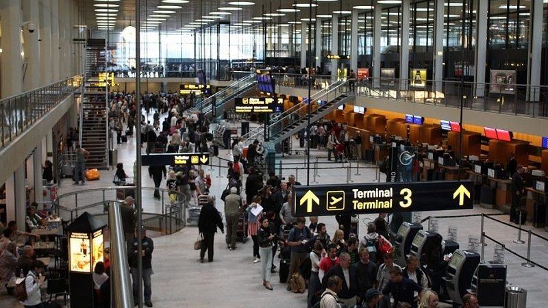 Время полета Москва - Копенгаген