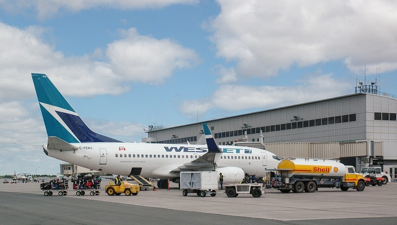 Международные аэропорты Канады