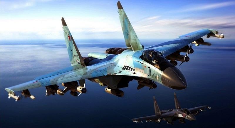 вертикальный взлет Су-35