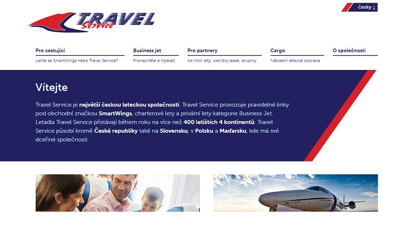 Travel Service Airlines официальный сайт