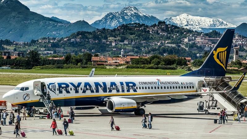 аэропорт Милана Бергамо онлайн-табло