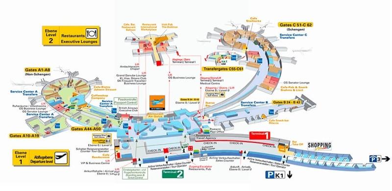 аэропорт Вена онлайн-табло вылета и прилета