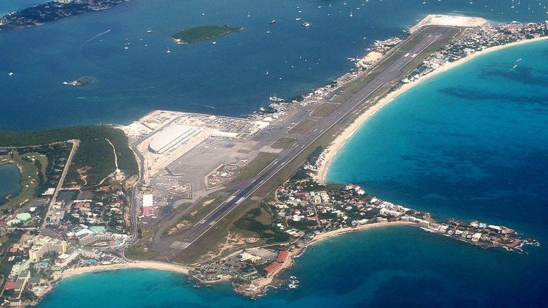 аэропорт святой Джулианы