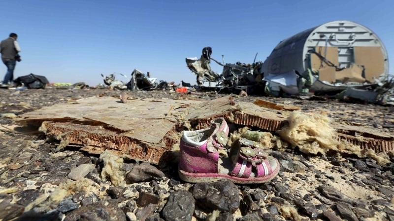авиакатастрофа над Синаем