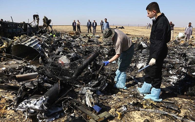 катастрофа А321 над Синайским полуостровом