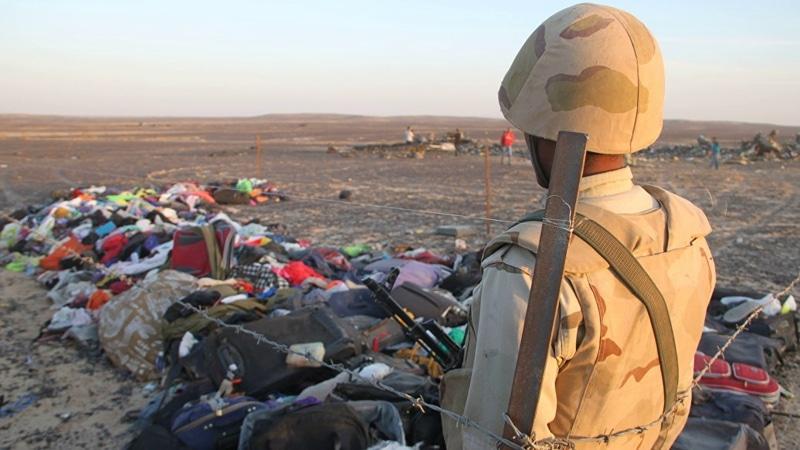 крушение самолета над Синаем