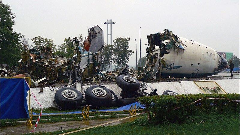 Авиакатастрофа Ту-114