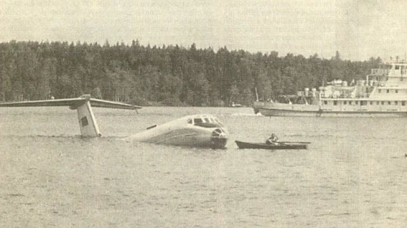 Катастрофа Ту-124
