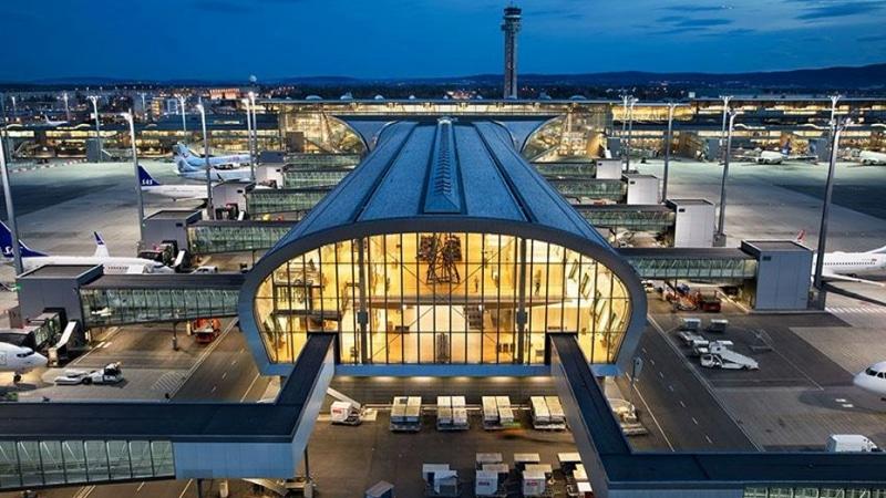 время полета Москва - Осло