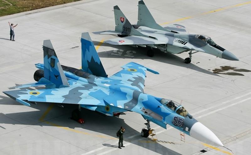 сравнение Миг-29 и Су-27