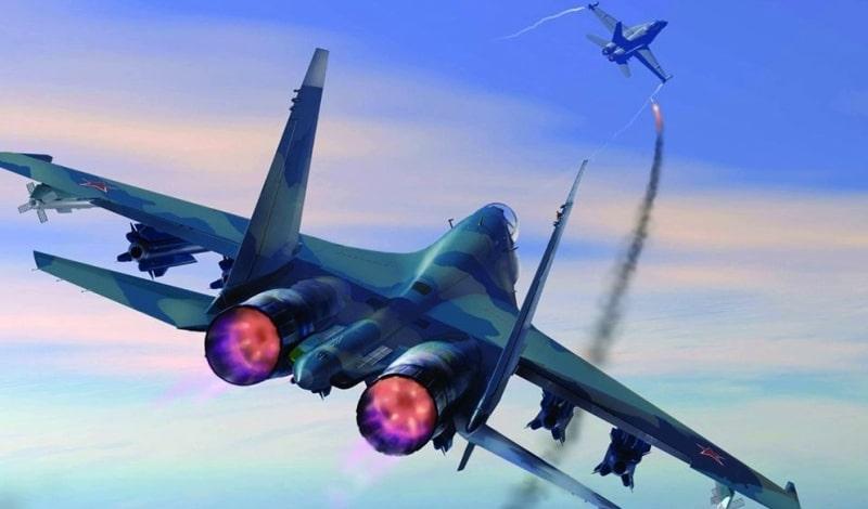 Миг-29 против Су-27