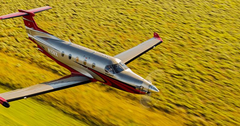 самолёт PC-12