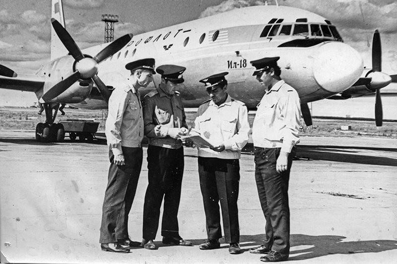 авиакатастрофы Ил-18