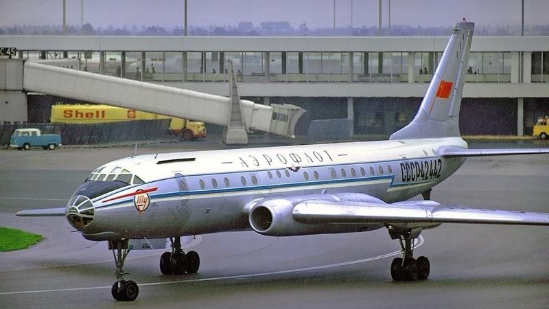 катастрофы Ту-104