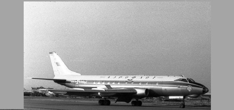 Скорость Ту-124