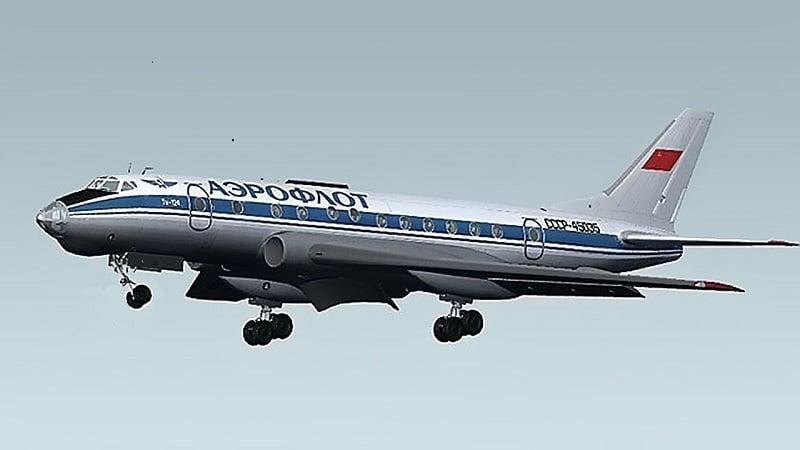 Самолет Ту-124 фото