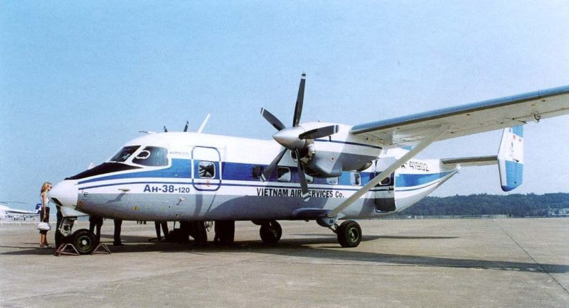 Самолет Ан-38