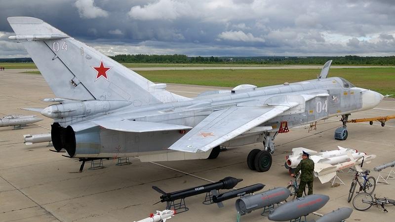 кабина Су-24