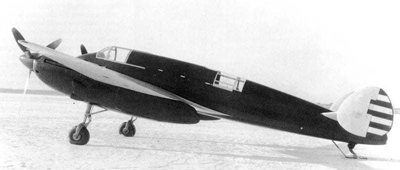 Бомбардировщик Як-2