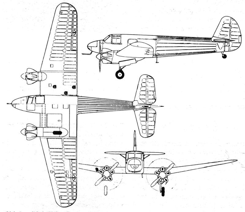 Самолет Як-6