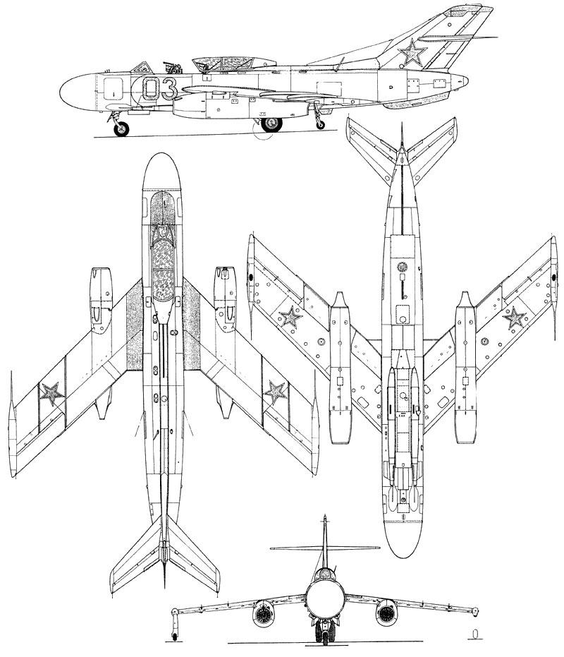 Самолет Як-25