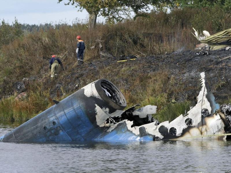 Катастрофа Як-42 под Ярославлем