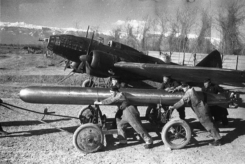 Бомбардировщик Ил-4